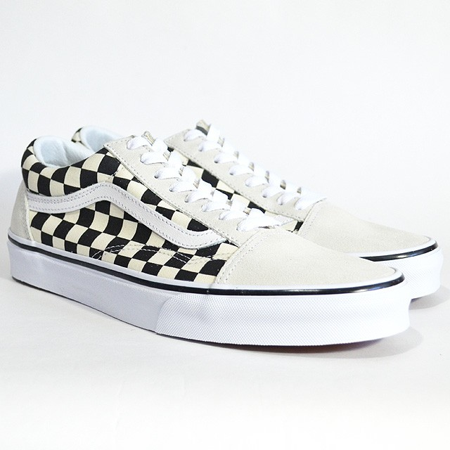 OLD SKOOL Lifestyle (Checkerboard) white/black VN0A38G127K