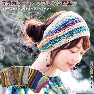 元気カラーでヘアアレンジ簡単☆
