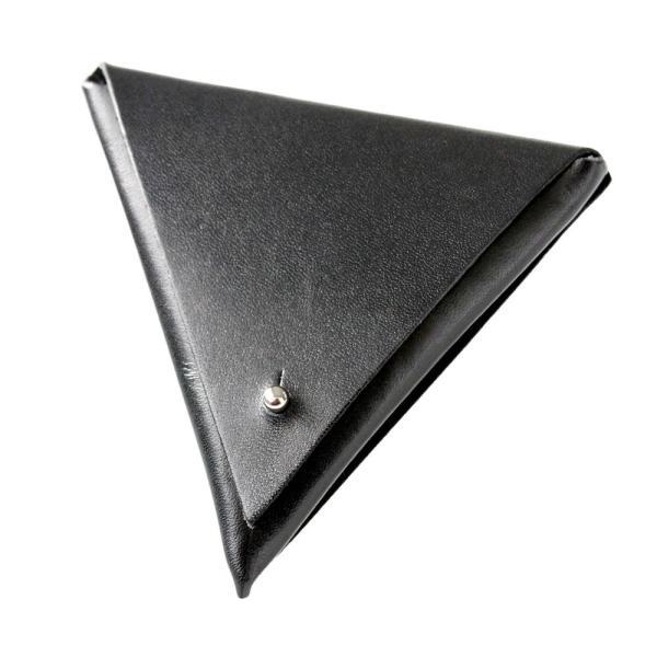 コインケース 小銭入れ レザー 本革 サドルレザー トライアングル 三角形 おしゃれ 高級感 asianarts 12