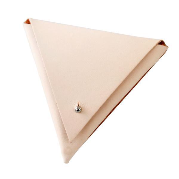 コインケース 小銭入れ レザー 本革 サドルレザー トライアングル 三角形 おしゃれ 高級感 asianarts 14