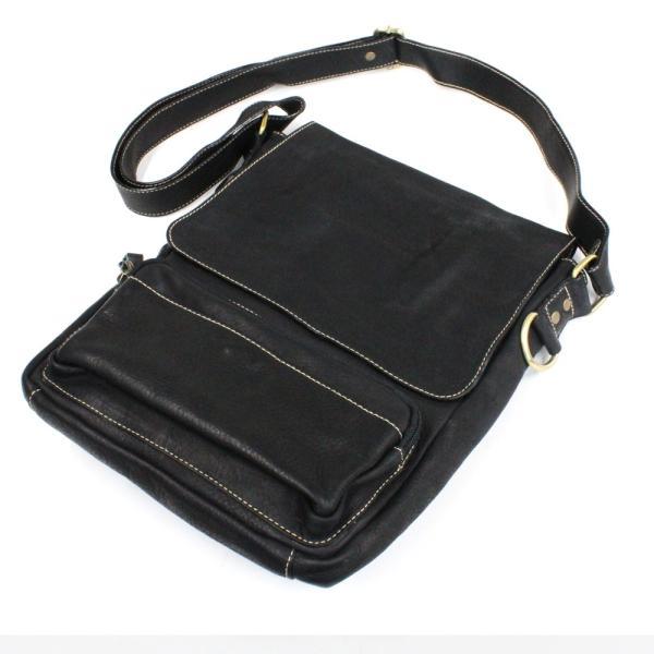 ショルダーバッグ レザー メンズ 本革 大容量 iPad タブレット A4 メッセンジャーバッグ ビジネスバッグ 斜めがけ asianarts 07