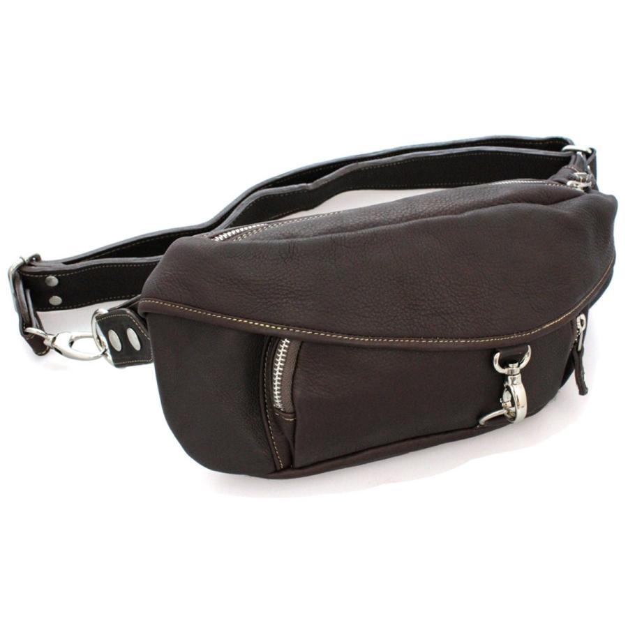 バッグ メンズ ボディバッグ 本革 レザー ウエストバッグ 斜めがけ ヒップバッグ 大容量|asianarts|13