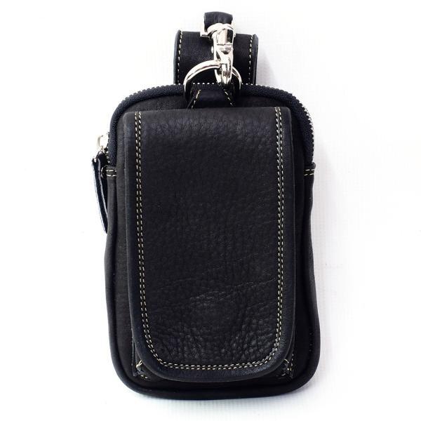 スマホケース iPhoneケース レザー 本革 牛革 カーフスキン ダブルポケット 携帯ケース スマートフォン収納|asianarts|07
