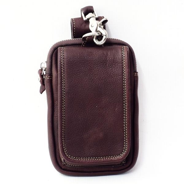 スマホケース iPhoneケース レザー 本革 牛革 カーフスキン ダブルポケット 携帯ケース スマートフォン収納|asianarts|09