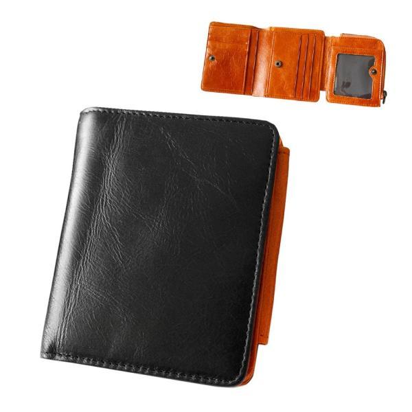 財布 二つ折り財布 メンズ レディース 本革 レザー ショートウォレット コンパクトウォレット バロンレザー|asianarts|16