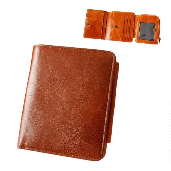 財布 二つ折り財布 メンズ レディース 本革 レザー ショートウォレット コンパクトウォレット バロンレザー|asianarts|18