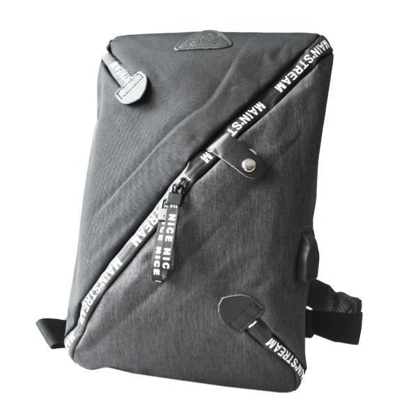ボディバッグ USBポート ワンショルダーバッグ 斜めがけ スリングバッグ  軽量 充電 おしゃれ プレゼント|asianarts|16