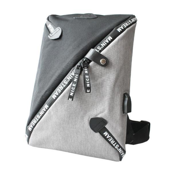 ボディバッグ USBポート ワンショルダーバッグ 斜めがけ スリングバッグ  軽量 充電 おしゃれ プレゼント|asianarts|13