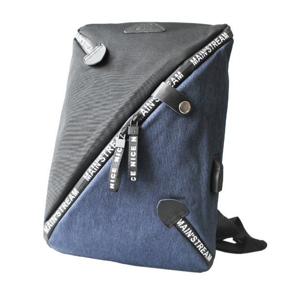ボディバッグ USBポート ワンショルダーバッグ 斜めがけ スリングバッグ  軽量 充電 おしゃれ プレゼント|asianarts|14