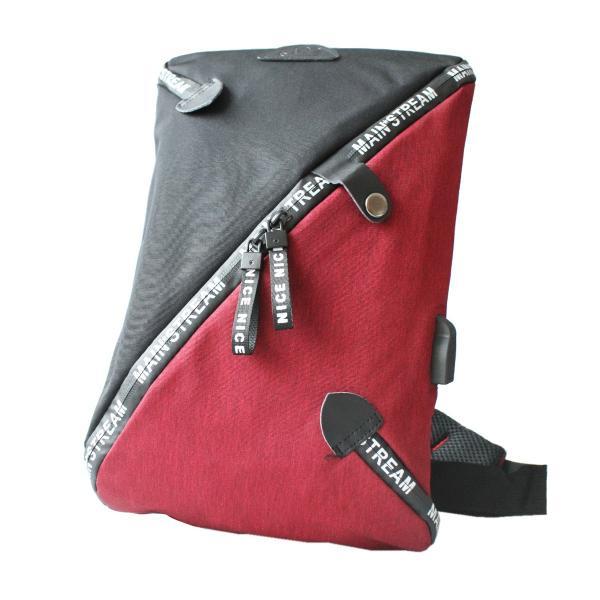 ボディバッグ USBポート ワンショルダーバッグ 斜めがけ スリングバッグ  軽量 充電 おしゃれ プレゼント|asianarts|17