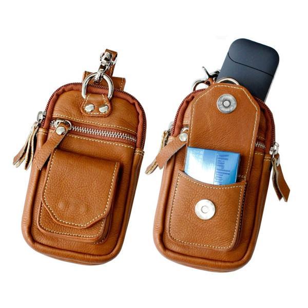 IQOSケース アイコスケース レザー 本革 ベルトポーチ レザーバッグ スマホケース iPhone8対応|asianarts|08