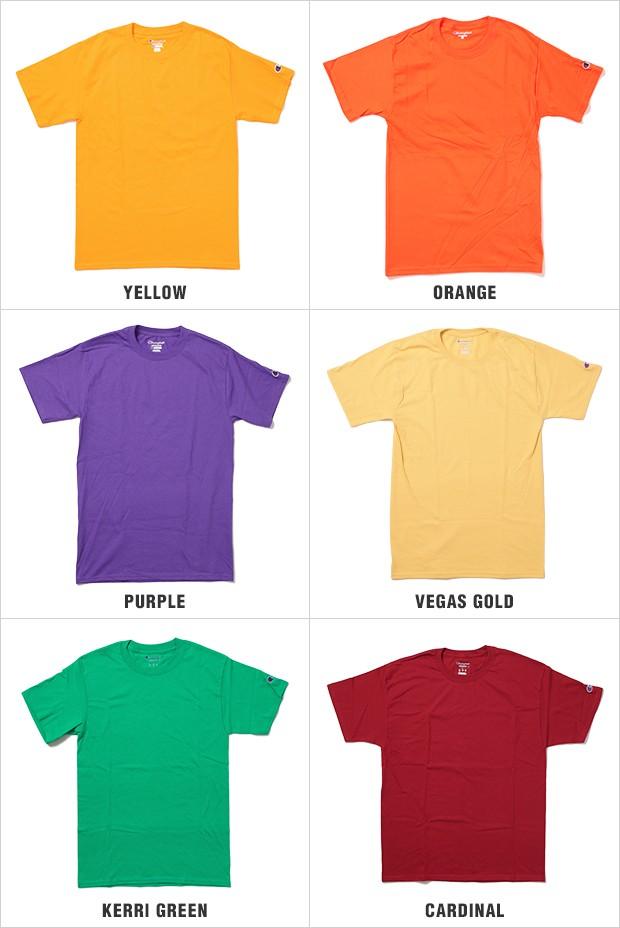 チャンピオン Tシャツ CHAMPION T-SHIRTS メンズ 大きいサイズ USAモデル champion t-shirts 無地 ワンポイント ロゴ 半袖 tシャツ