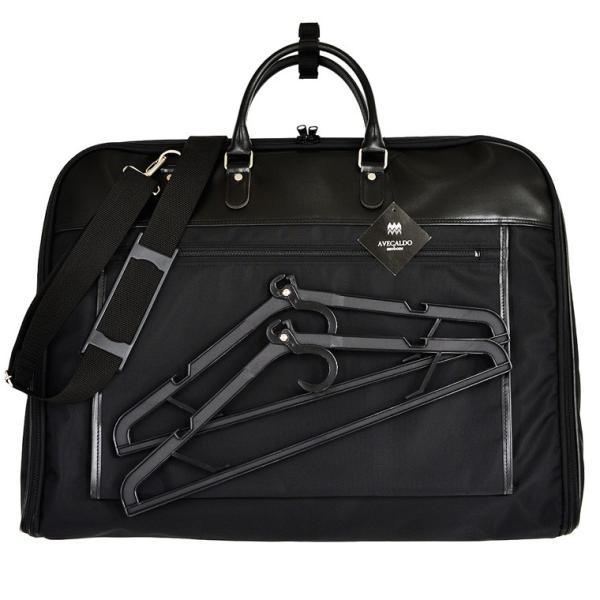 ガーメントバッグ 日本製 メンズ レディース スーツバッグ ガーメントケース ハンガー2本付き AVECALDO アベカルド AV-E109|asoboze|10