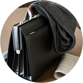 豊岡製ダレスバッグ