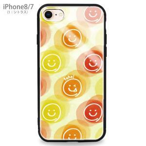 スマホケース iPhone Galaxy ケース スマイリー スマイル ニコちゃん|asshop|17