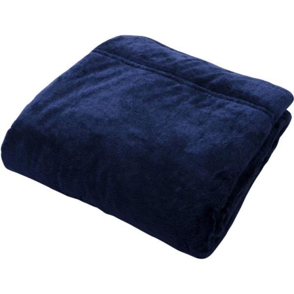 毛布 あったか 暖かい 2枚合わせ毛布 エムールヒート シングルサイズ ブランケット 吸湿発熱 ヒートウォーム ボリューム 防寒 冬用 洗える 送料無料 エムール|at-emoor|18