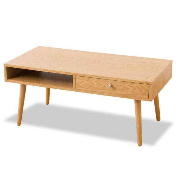 ローテーブル しまうテーブル テーブル テレワーク 在宅 収納 おしゃれ 引き出し 木製 天然木 長方形 センターテーブル 北欧 新生活 送料無料 エムール|at-emoor|12