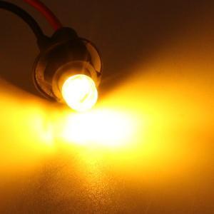 T10 LEDバルブ 透明レンズ キャッツアイ仕様 12V 80LM 2個セット 全6色 ポジション球 バックランプ ルームランプ ナンバー灯 ライセンスランプ|at-parts7117|12