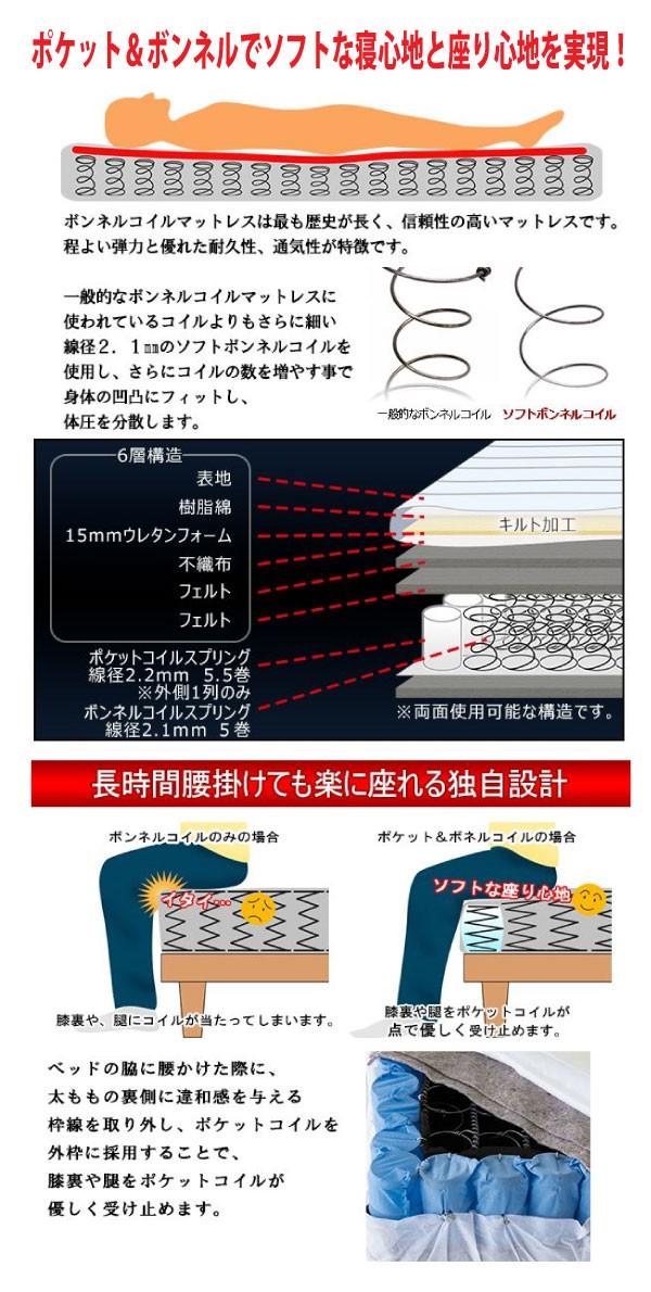 【送料無料!】激安日本製収納ベッド【Maimu】マイム