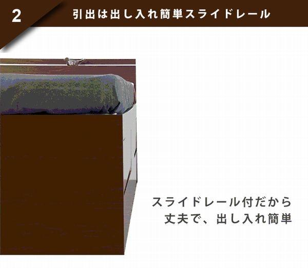 浅型・深型・長物収納チェストベッド【Full-Chest】フルチェスト送料無料