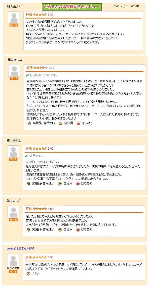 =棚&コンセント付きチェストベッド【CheトスマstSmart】レビュー 【送料無料!