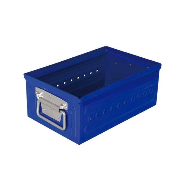 収納ボックス 小物・パーツ収納 ダルトン D.M.S GARAGE 6L スチール製 スタッキングボックス 積重ね可能 インダストリアル アメリカンヴィンテージ調|atease|10