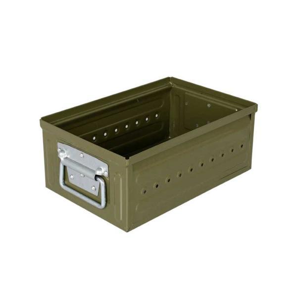 収納ボックス 小物・パーツ収納 ダルトン D.M.S GARAGE 6L スチール製 スタッキングボックス 積重ね可能 インダストリアル アメリカンヴィンテージ調|atease|07