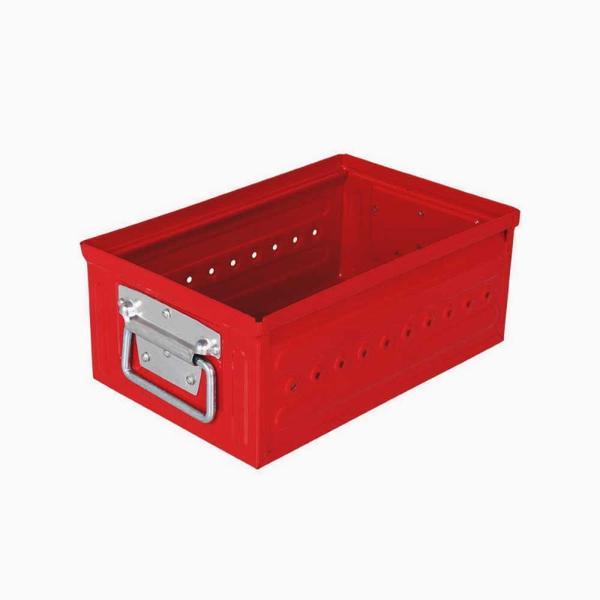 収納ボックス 小物・パーツ収納 ダルトン D.M.S GARAGE 6L スチール製 スタッキングボックス 積重ね可能 インダストリアル アメリカンヴィンテージ調|atease|08