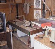 浮き彫り表札制作の様子1