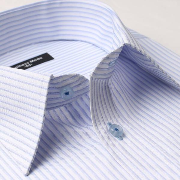 ワイシャツ 長袖 メンズ Yシャツ ノーアイロン ビジネス シャツ ボタンダウン レギュラー  at-ml-sre-1516 宅配便のみ クールビズ clz|atelier365|29