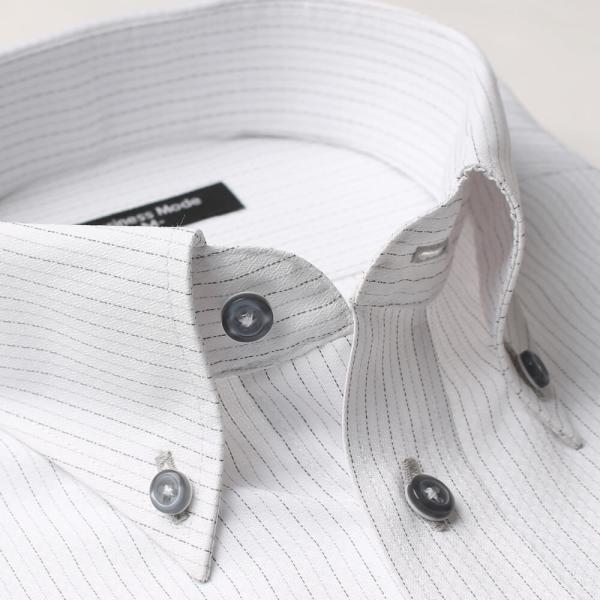 ワイシャツ 長袖 メンズ Yシャツ ノーアイロン ビジネス シャツ ボタンダウン レギュラー  at-ml-sre-1516 宅配便のみ クールビズ clz|atelier365|31
