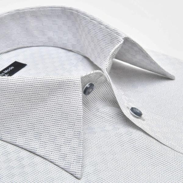 ワイシャツ 長袖 メンズ Yシャツ ノーアイロン ビジネス シャツ ボタンダウン レギュラー  at-ml-sre-1516 宅配便のみ クールビズ clz|atelier365|22