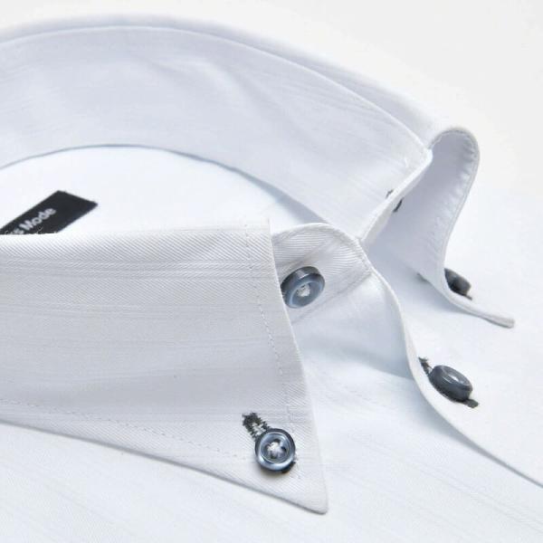 ワイシャツ 長袖 メンズ Yシャツ ノーアイロン ビジネス シャツ ボタンダウン レギュラー  at-ml-sre-1516 宅配便のみ クールビズ clz|atelier365|23