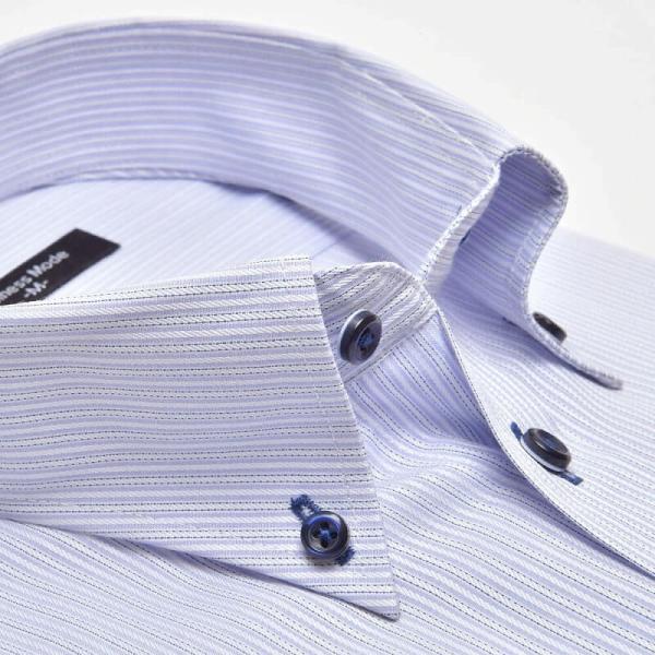 ワイシャツ 長袖 メンズ Yシャツ ノーアイロン ビジネス シャツ ボタンダウン レギュラー  at-ml-sre-1516 宅配便のみ クールビズ clz|atelier365|25