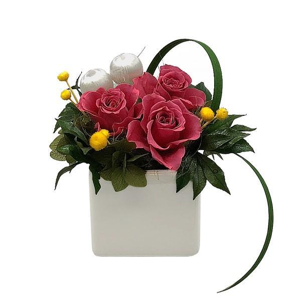 花 プリザーブドフラワー プリザーブドフラワーアレンジメント プレゼント ソフィー|atelierm-flower|13