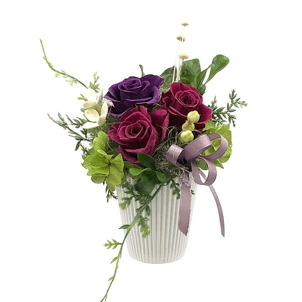 花 プリザーブドフラワー プリザーブドフラワーアレンジメント プレゼント エアリー atelierm-flower 16