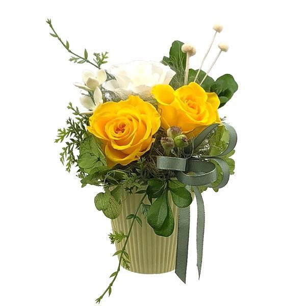 花 プリザーブドフラワー プリザーブドフラワーアレンジメント プレゼント エアリー atelierm-flower 14