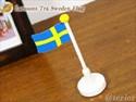 Larssons Tra スウェーデン 国旗ウッドスタンド