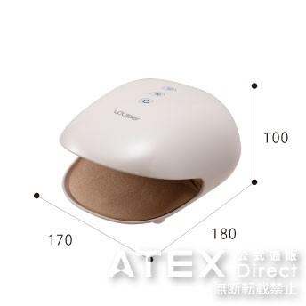 B5サイズでおさまるコンパクトサイズ。約10分で自動停止する、安心・安全設計です。