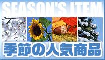 季節の人気商品