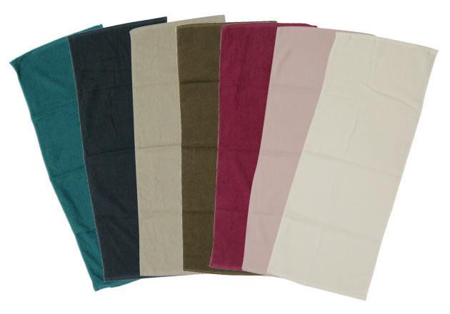 サイズ、カラー豊富な業務用タオル