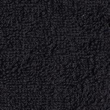 ブラック業務用タオル黒タオル