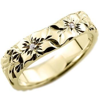 ハワイアンリング,指輪,手彫り
