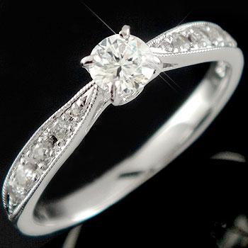【工房直販】指輪:プラチナリング:ダイヤモンド0.44ct:婚約指輪:エンゲージリング:結婚指輪:大粒ダイヤモンド:SIクラス:鑑定書付:特別価格:工房直販