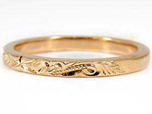 ペアリング,結婚指輪,K18PG