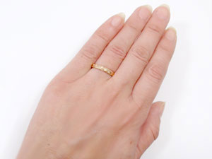 指輪,k18pg,ハワイアンジュエリー【送料無料】