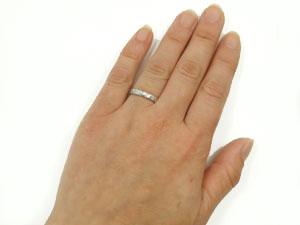 指輪,k18wg,ハワイアンジュエリー【送料無料】