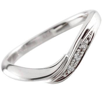 ダイヤモンド リング エンゲージリング 婚約指輪 ホワイトゴールドk18