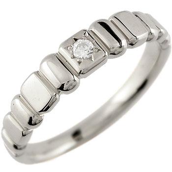 ダイヤモンド プラチナ リング 一粒ダイヤモンド 指輪