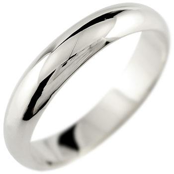プラチナ リング 指輪 甲丸 ストレート ピンキーリング